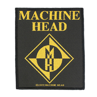 Patch Machine Head - Diamond Logo - RAZAMATAZ, RAZAMATAZ, Machine Head