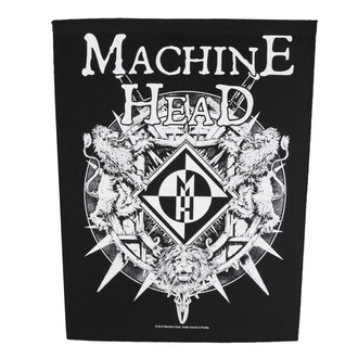 Large patch Machine Head - Crest - RAZAMATAZ, RAZAMATAZ, Machine Head